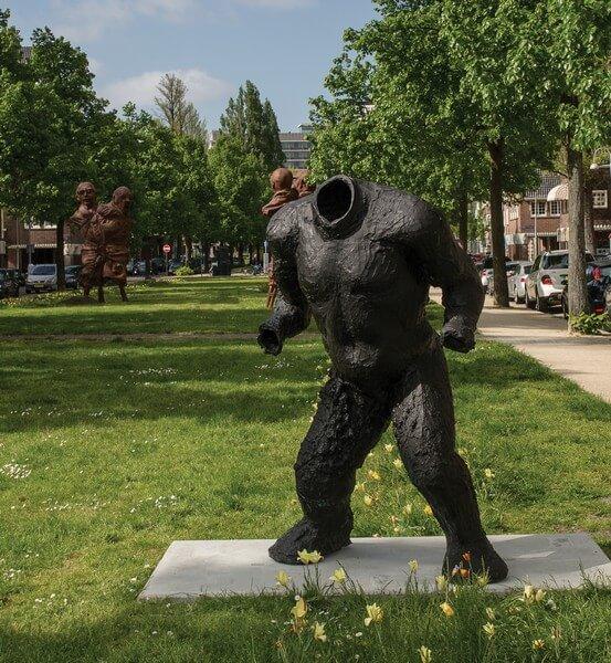 ARTZUID 2015 - Thomas Houseago - Crouching Figure (2008)