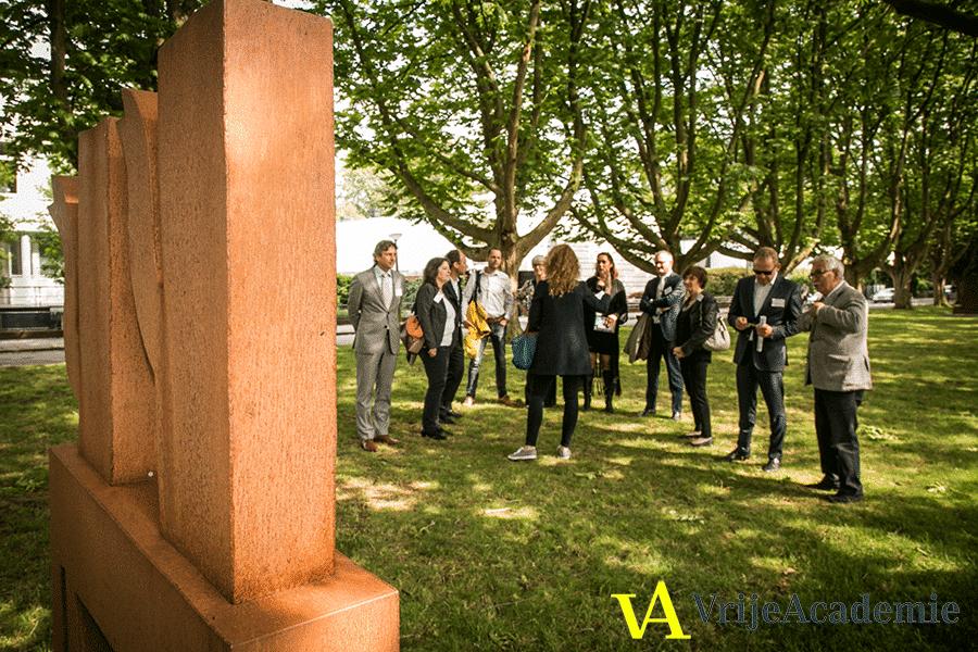 ARTZUID Vrije Academie - guided tour - groepsrondleiding