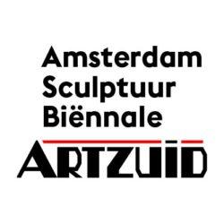ARTZUID logo kunst Amsterdam Sculptuur Biennale