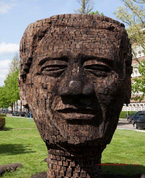 Jems Robert Koko Bi - Mandela 27.000 pieces of life history-ARTZUID-2013-archief